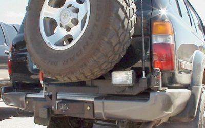 Rear Mounted Tire Carrier