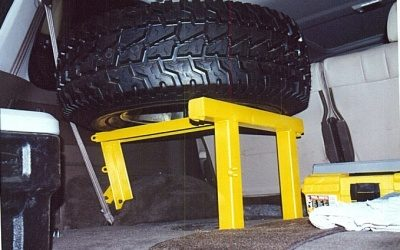 Inside Tire Carrier
