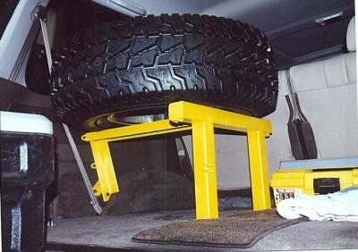 Inside Tire Carrier