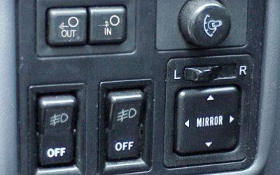 Interior winch controls for Warn 5 Pin Remote