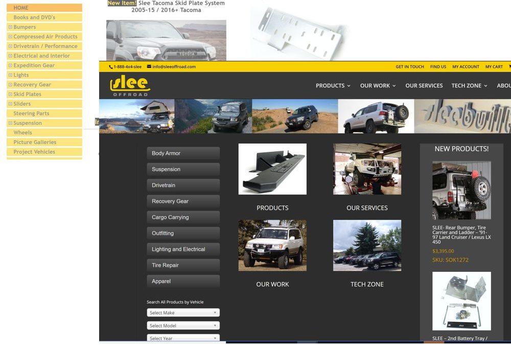 Slee New Website